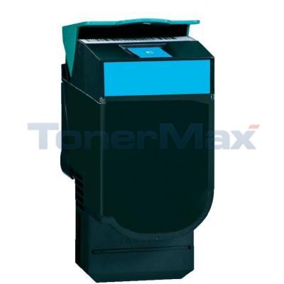 LEXMARK CV54X/XV544 TONER CART CYAN HY RP